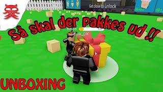 We pack out-Unboxing-English Roblox