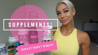 SUPPLEMENTS: What to take, Why to take, When to take! Lauren Simpson's FAT LOSS STACK!