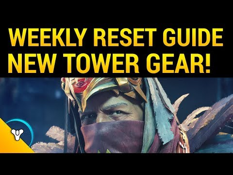 Curse of Osiris: So Many Ornaments! Tower Vendors New Gear