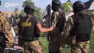 Арест Атамбаева: борьба эфиров