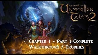 The Book of Unwritten Tales 2 PS4 HD Trophies Walkthrough Commentary Chapter 1 - Part 1
