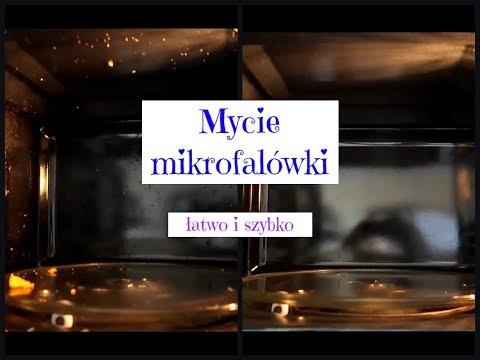 Mycie mikrofalówki - łatwy i szybki sposób.