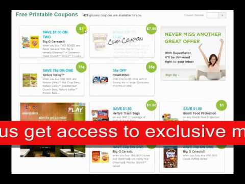 How to Get Online Grocery Coupons | Save up to 90% on Groceries