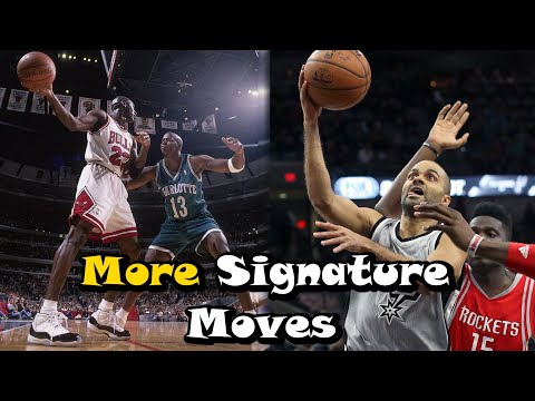 10 MORE Great Signature Moves In NBA History! - Part 2