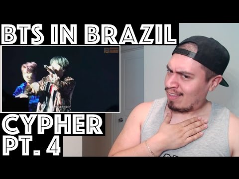 BTS Cypher Pt.4 Live THE WINGS TOUR in Brazil Reaction