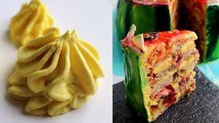 Нереально вкусный БАНАНОВЫЙ крем - для тортов и капкейков