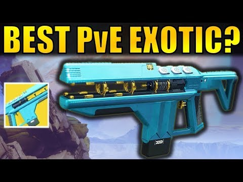 Destiny 2: BEST PvE EXOTIC? | Merciless Exotic Fusion Rifle