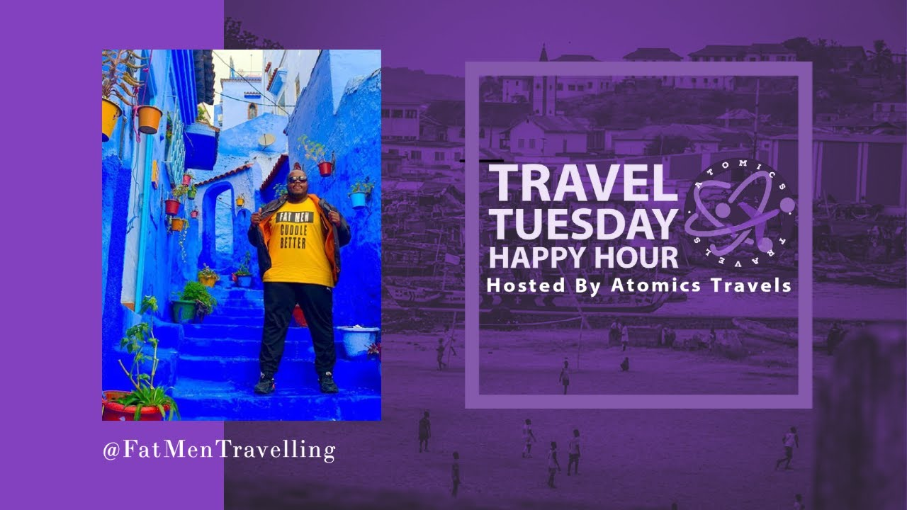 @fatmentraveling | Episode 202 Travel Tuesday Happy Hour Podcast