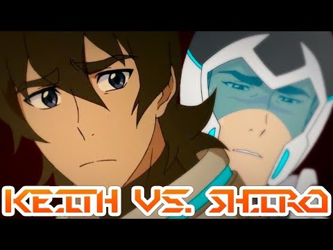KEITH VS. SHIRO - The Paladins Split Up | Voltron: Legendary Defender Speculation