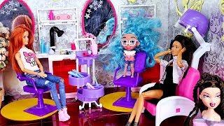 Szalona fryzjerka ✂ Bajka Barbie Hairdorables ✂ Rodzinka Bajka po polsku odc.58