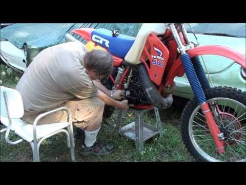 Honda Cr500 Water Pump Repair Update