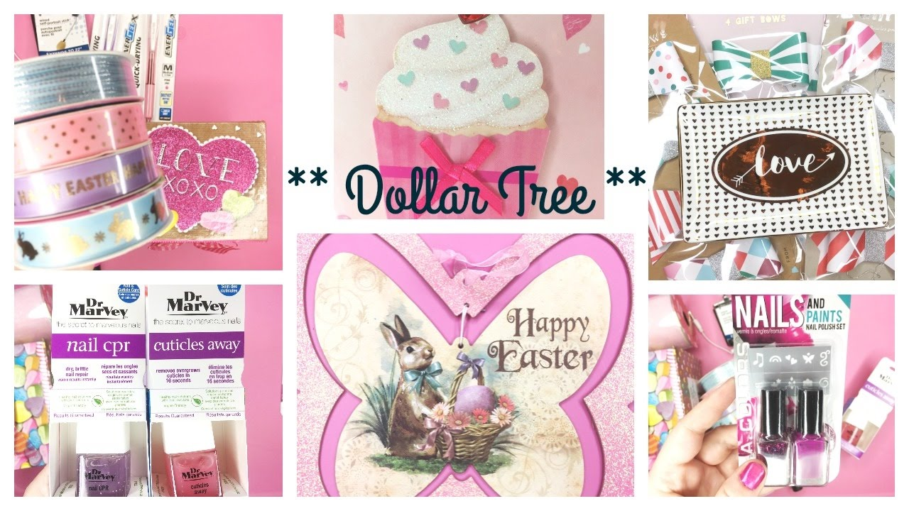 Dollar Tree Haul 2017 Clearance Finds Valentines Easter