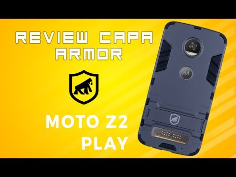 9b3e97975d Review da Capa Armor para Moto Z2 Play