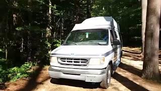 Wells State Park, Sturbridge, Massachusetts: Class B RV Camping