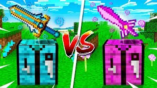 Boy vs Girl $1,000,000 Minecraft Sword Challenge