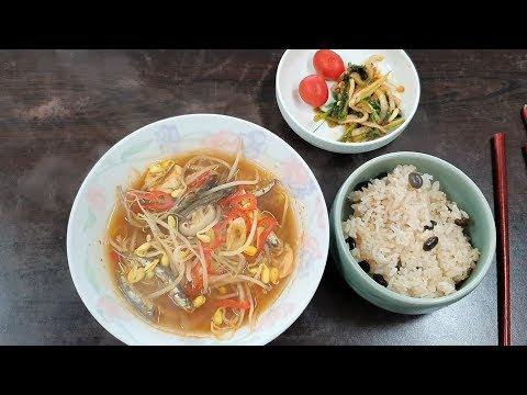 Healthy Cooking::bean sprouts soup