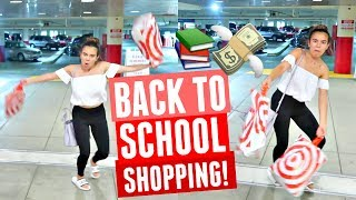 TARGET TRIP WITH ADELAINE. COME BACK TO SCHOOL SHOPPING WITH ME!