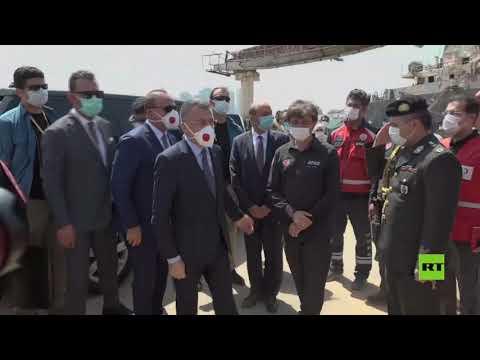 نائب أردوغان ووزير الخارجية يزوران موقع الانفجار في بيروت  - نشر قبل 8 ساعة