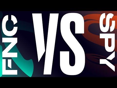 FNC vs. SPY - Week 4 Day 2 | LEC Summer Split| Fnatic vs. Splyce (2019)