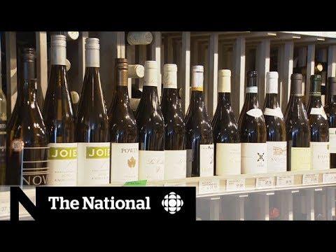 Canadian trade war: Alberta boycotts B.C. wine