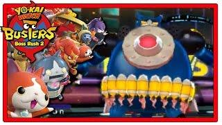 Yo-Kai Watch Busters - Part 13 | Boss Rush + Robonyan 28! [Red Cat Team Gameplay Walkthrough]