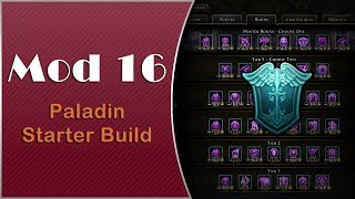 Neverwinter - Mod 16 Paladin Starter Build