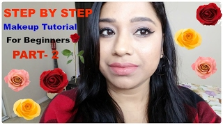 Step By Step Eye Makeup Tutorial For Beginner In Hindi || Beginners Friendly Makeup Series, PART-2