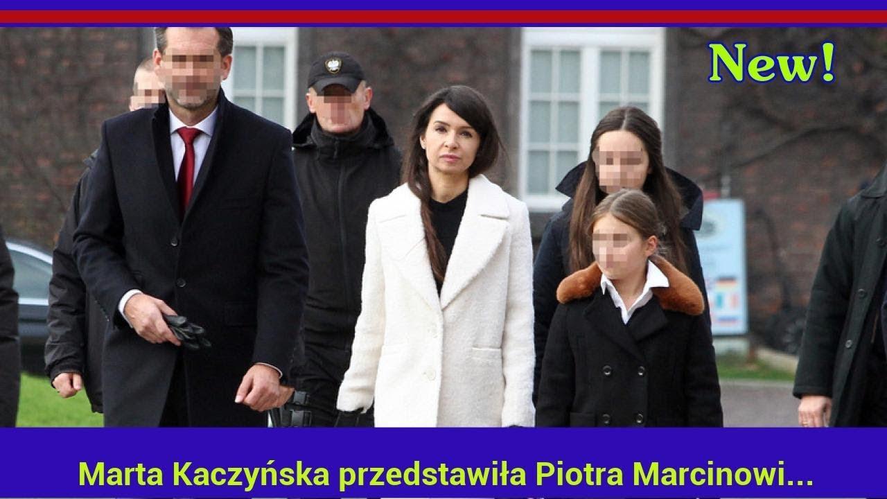 Marta Kaczyńska przedstawiła Piotra Marcinowi Dubienieckiemu. Oto kulisy