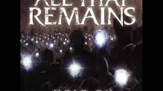 All That Remains - Hold on (sub español)