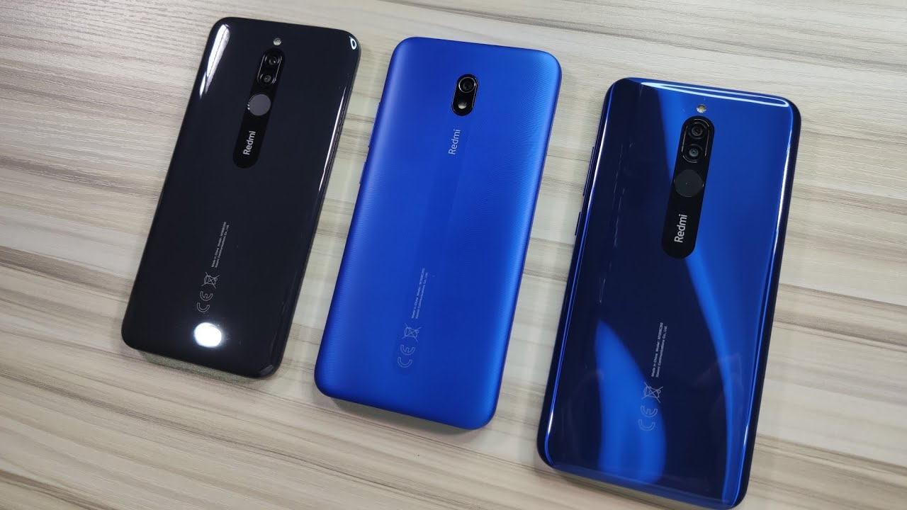 EXCLUSIVE! Redmi 8 and Redmi 8A Triple Unboxing Three Colors!