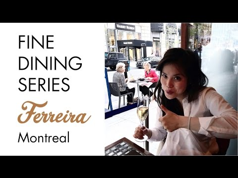 Ferreira Café 🇵🇹 Fine Dining Restaurant In Montreal Canada | Where To Eat In Montreal