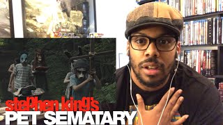 Pet Sematary (2019)- Official Trailer Reaction!