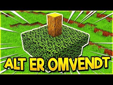 ALT ER OMVENDT!? Dansk Minecraft