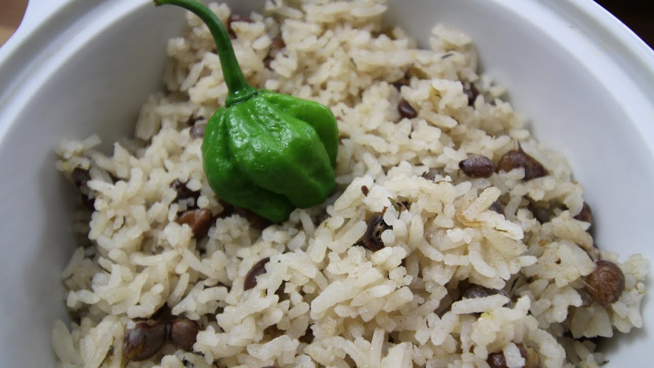 how to cook jamaican dry gungo rice and peas  christmas