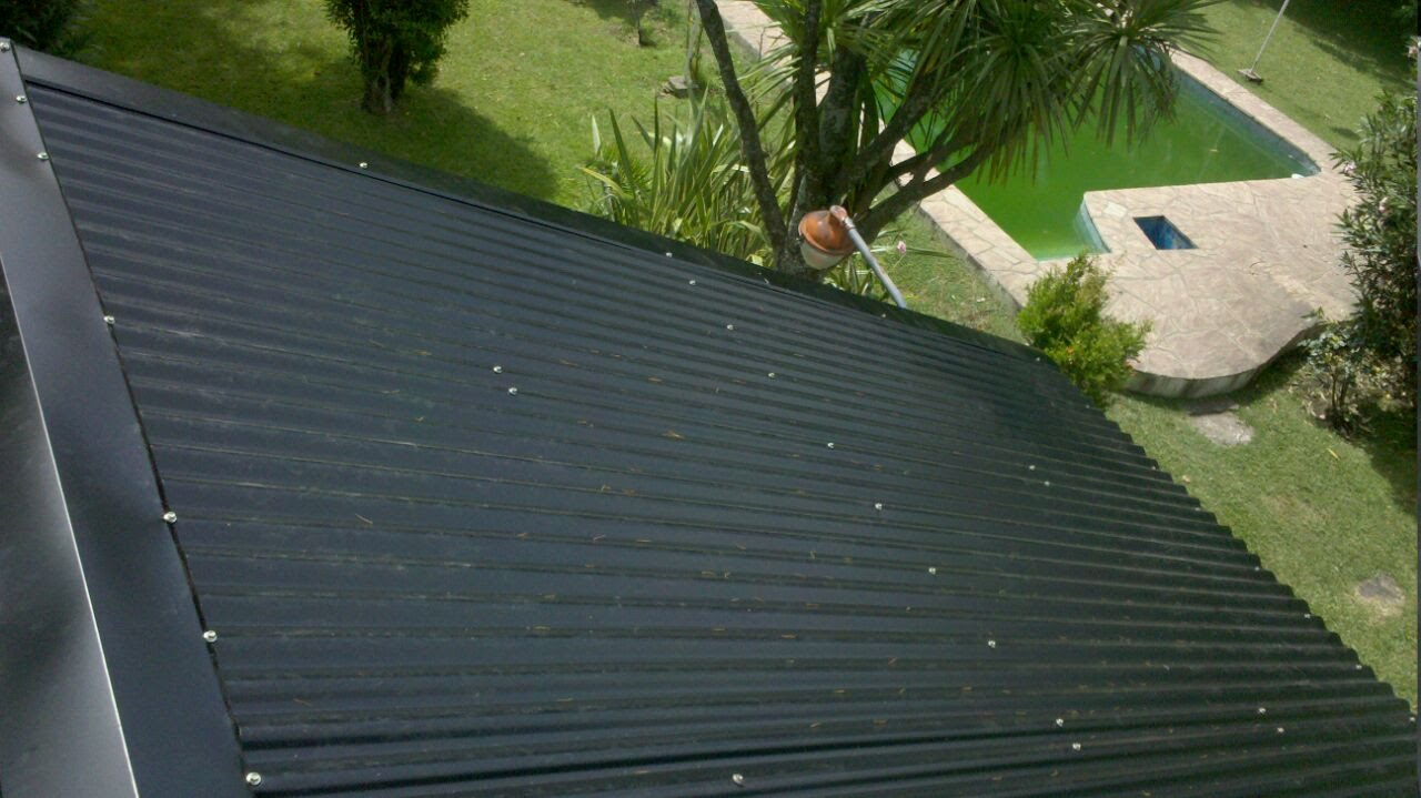 Colocacion de chapas onduladas color youtube for Casas con techos de chapa de color