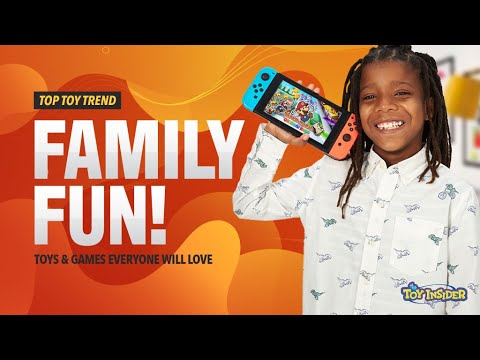 Toy Insider Top Toy Trend 2020: Family Fun