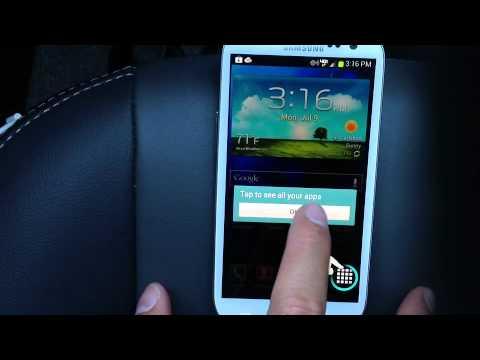 Samsung Galaxy S III 3 Verizon 4G LTE Quick Look White 32Gb