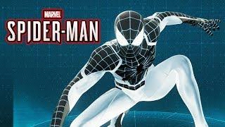 Spider-Man Ps4 - Neagative Spider-Man Suit Gameplay Showcase