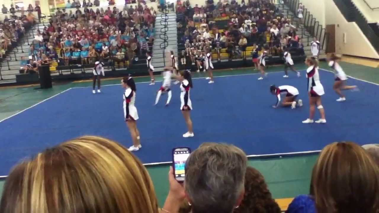 Lamar County High School 2013 Cheer Competition at Ola ...