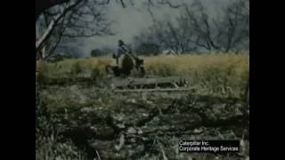 Sustainable Farming with Caterpillar D2 Track-Type Tractors | c. 1950