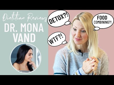 Dietitian Reviews Dr MONA VAND'S How to Get Rid of Bloating & Food Combining Tips