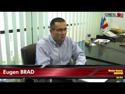 Eugen Brad, Director General Radiocom: 85% din veniturile SNR provin din broadcasting