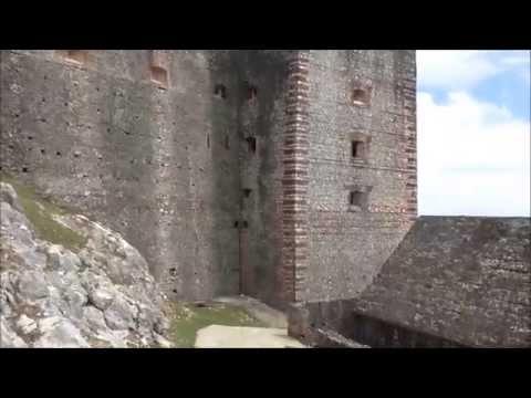 HAITI, Cap Haitien, the Mountains, the Citadel and the Sans-Souci Palace