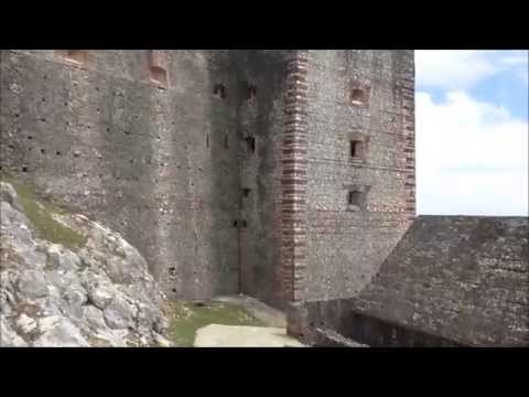 Cap Haitien, the Mountains, the Citadel and the Sans Souci Palace