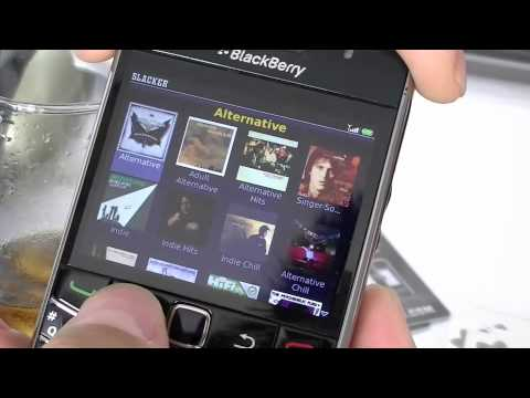 Slacker Radio for BlackBerry with Offline Listening Mode