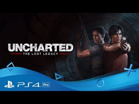 Uncharted: The Lost Legacy | PSX 2016 Announce Trailer | PS4 Pro