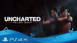 Uncharted: The Lost Legacy | PSX Announce Trailer | PS4 Pro