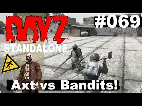 DayZ Standalone * PVP Banditen-Jagd mit Axt! * DayZ Standalone Gameplay German deutsch