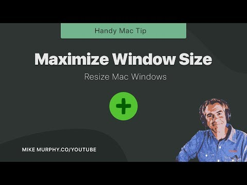 How To Maximize Window Size On Macs