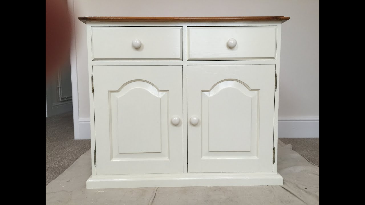 how to paint old pine furniture restoration youtube